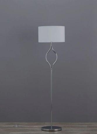 lampa podłogowa stojąca 155 cm chrom efekt