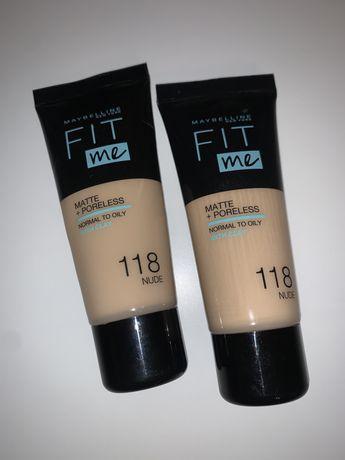 Podkład Maybelline fit me - 118 nude