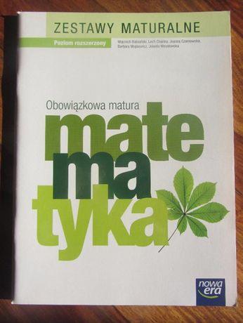 Matematyka Obowiązkowa matura zestawy maturalne.NOWA!
