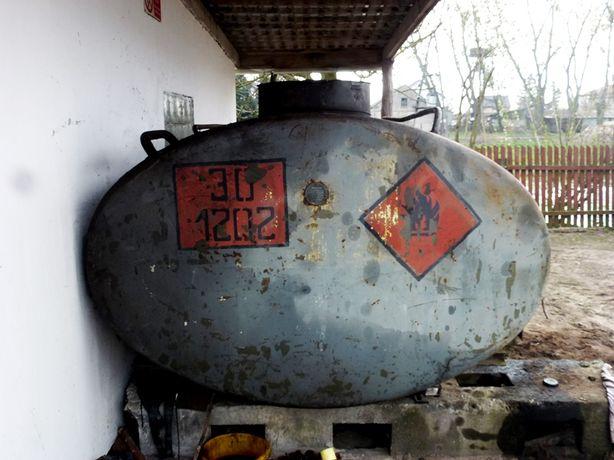 zbiornik stalowy -beczka 4500 litrów do wody,paliwa,szambo