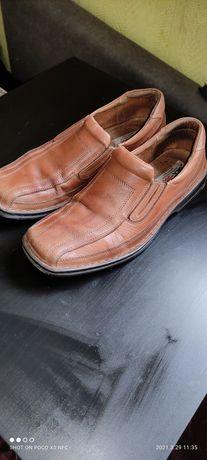 Buty z naturalnej skóry nr.43 Skóra wewnątrz