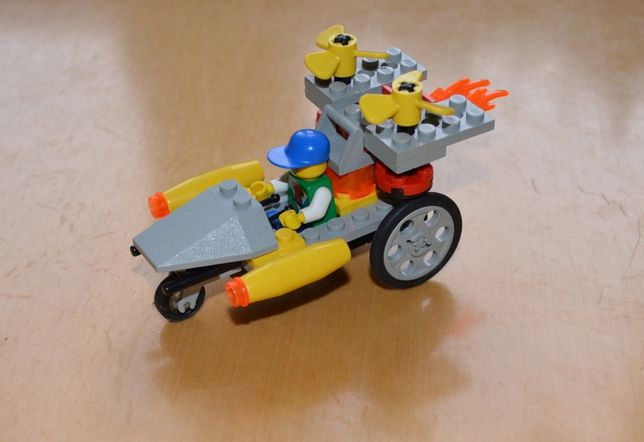 Klocki lego Time Cruisers - Rocket Racer - zestaw nr 6491
