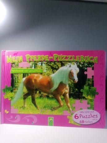 Książka z puzzlami