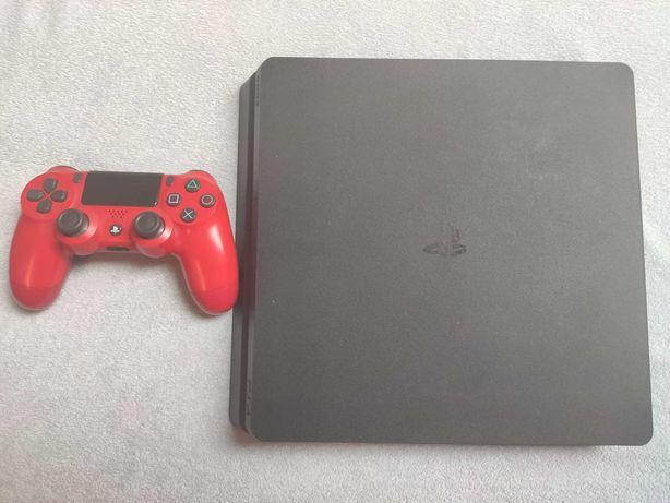 Playstation 4 Slim 1TB+pad+6gier+okablowanie
