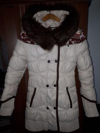 Куртка пуховик зима S
