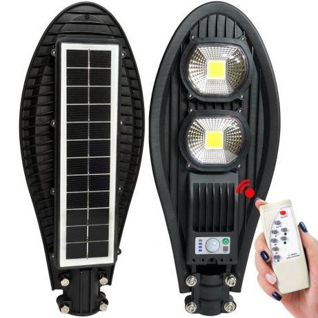 Lampa SOolarna 100W LED Uliczna LATARNIA CZUJNIKIEM 150zl