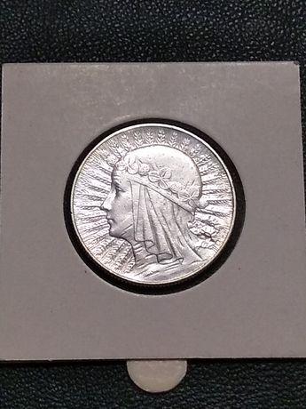 5 złotych 1934 ładna