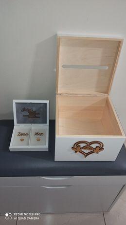 Świetne pudełko na Życzenia oraz obrączki Ślubne