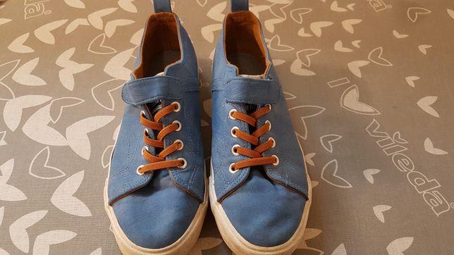 Buty sportowe chłopięce rozmiar 38 cool club niebieskie