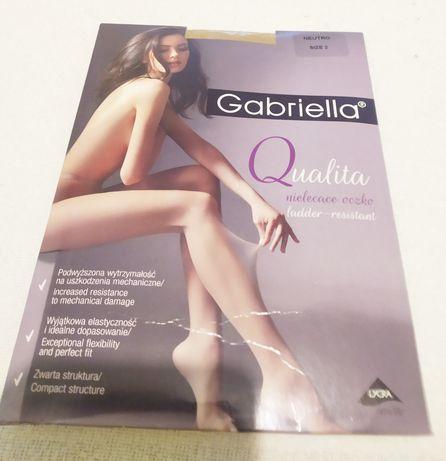 Nowe rajstopy Gabriella Qualita rozm 2 neutro