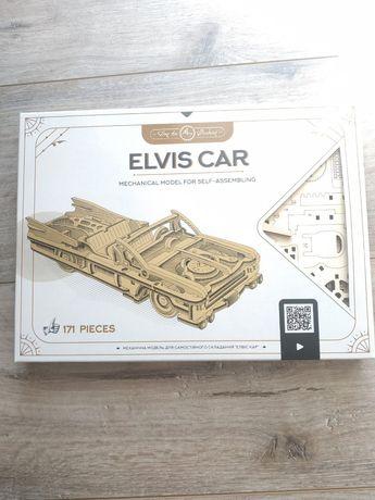Деревянный конструктор Elvis Car для детей 10-14 лет