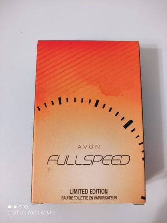 Full speed Avon туалетна чоловіча вода 30 мл