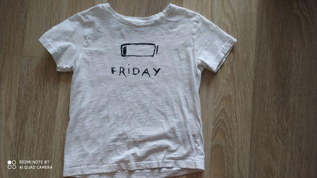 T-shirt dla chłopca Zara