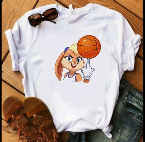 Koszulka bluzka t-shirt Królik Bugs Lola S M L XL XXL