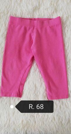 Letnie legginsy dla dziewczynki w rozmiarze 68