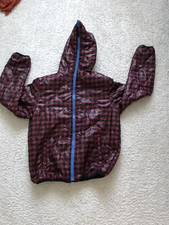 Куртка 44-46-м женская двухсторонняя,демисезон