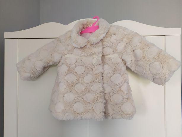 Korzuszek kurtka biała stan idealny