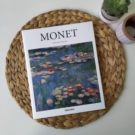 "Piękny, bogato ilustrowany album ""Monet"" Christoph Heinrich ENG"