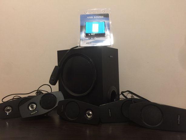 Zestaw głośników Creative T6060 ; Zestaw glośników do kina domowego