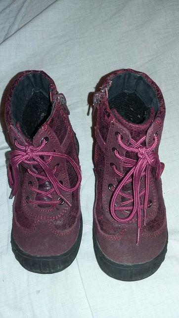 Ботиночки 24р, ботинки деми 15см, сапожки