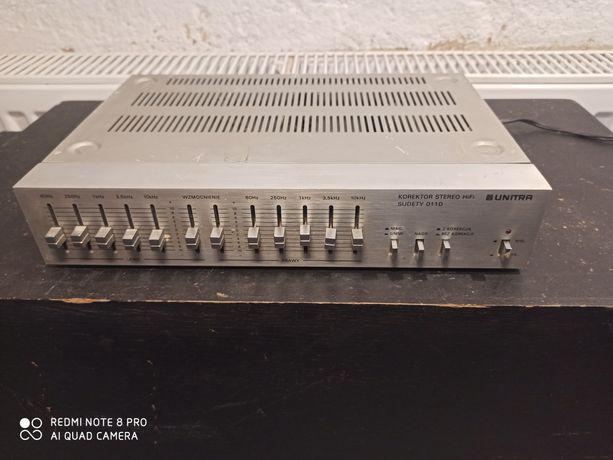 Korektor Unitra 011D Sudety HiFi stereo