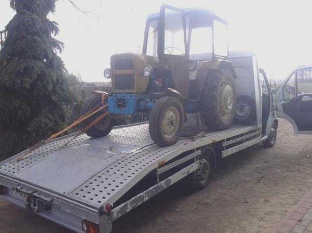 Traransport Autolawetą Przewóz pojazdów,Maszyn rolniczych