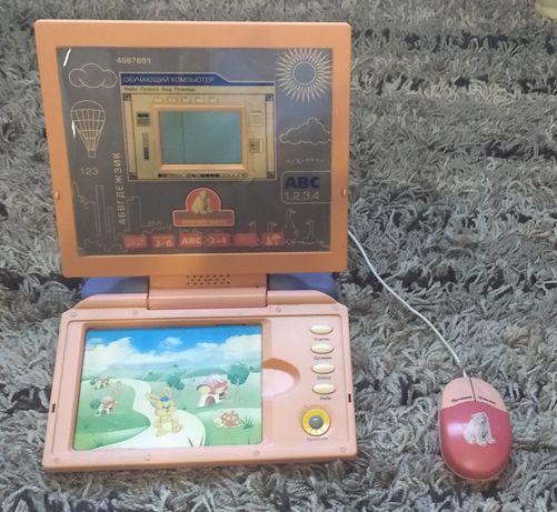 Продается детский интерактивный компьютер с картинками