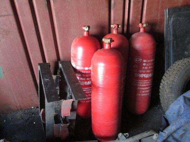 балоны для газовой метановой установки