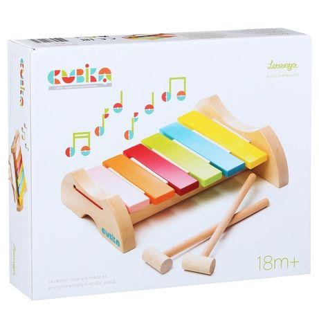 Деревянный ксилофон Кубика, Cubika LKS-2