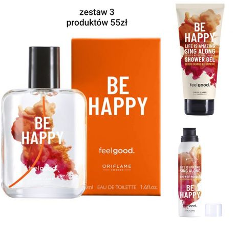 Zestaw Oriflame BE HAPPY
