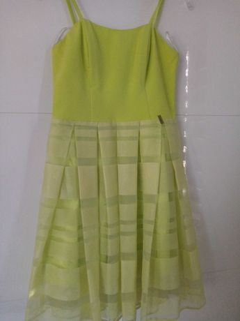 Sukienka seledynowa