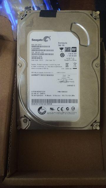 Продам жесткий диск Seagate ST500DM002 3.5 500gb
