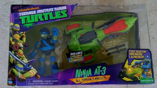Brinquedos Novos - Mota Tartarugas Ninja + Camião Telecomandado
