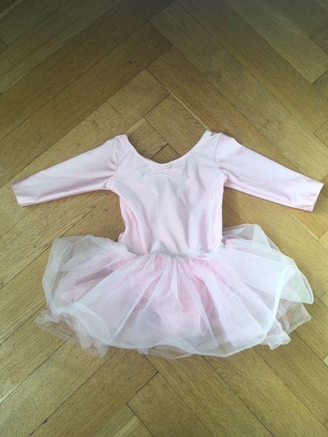 H&M sukienka do tańca z tiulem, do baletu r. 92