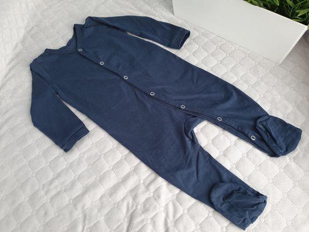 Sinsay, granatowy pajac (piżamka) roz. 74-80