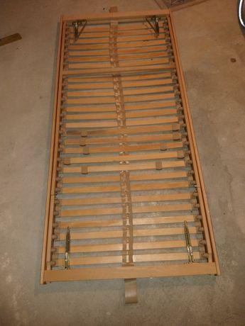 Stelaż regulowany 90x200 łóżķo rama standard ikea jysk
