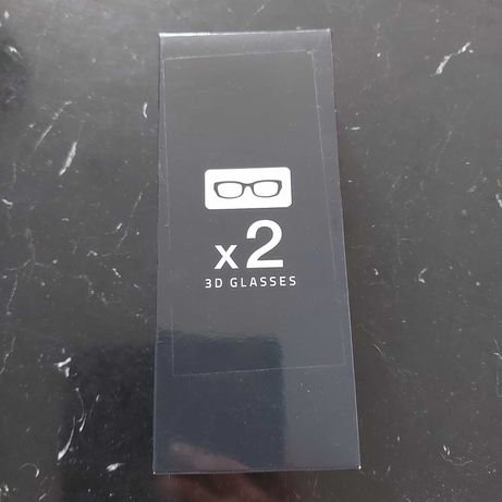 Okulary samsung 3d 2 szt