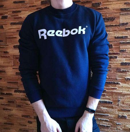 Свитшот Reebok темно-синий
