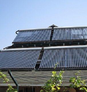 Установка (монтаж) солнечных коллекторов (гелиосистем)
