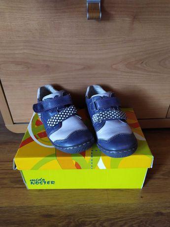Buty dziecięce ze skóry