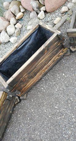 Donice, doniczki drewniane