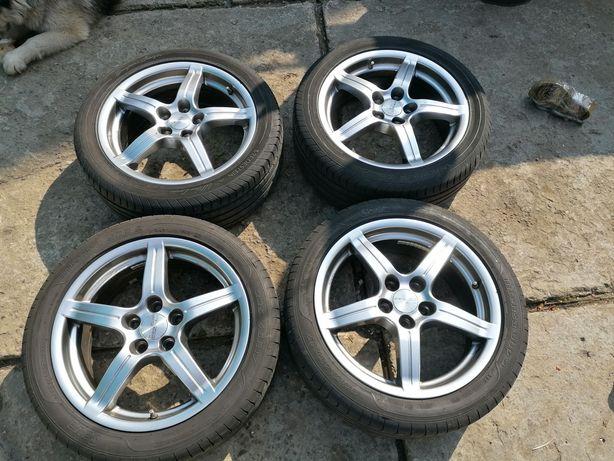 Диски  Anzio wheels r17 та резину 225/45/r1 vredestein  sava intensa u
