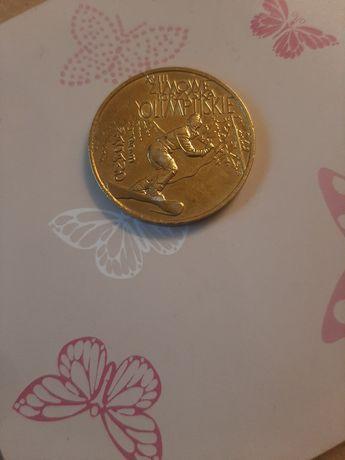 Moneta zimowe igrzyska olimpijskie nagano