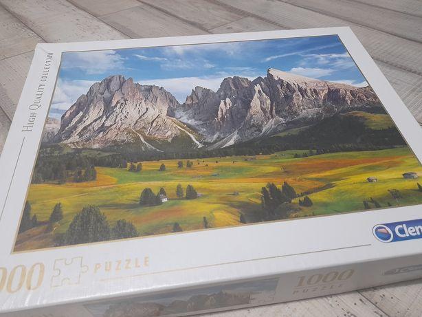 Puzzle 1000 clementoni krajobraz góry