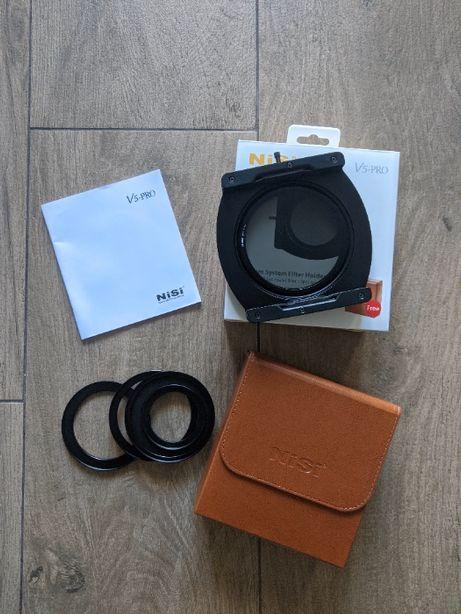 NiSi V5 Pro 100mm тримач фільтрів з CPL фільтром та кільцями