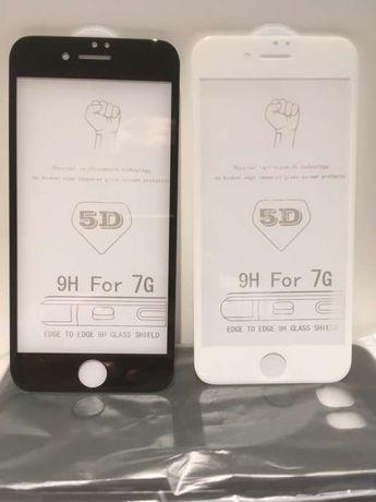 Pelicula vidro temperado 5D iPhone 6/7/8/11/X/XS/XR/SE 2020/11/11 Pro