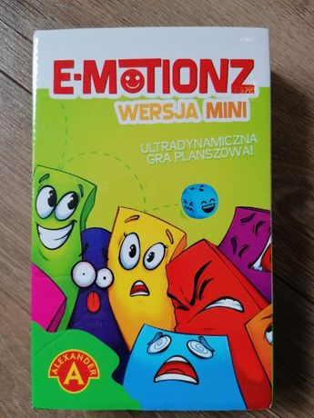 Gra e-motionz - pracuj nad emocjami.