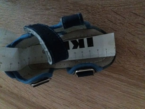 sandałki rozmiar 19, wkładka 12cm