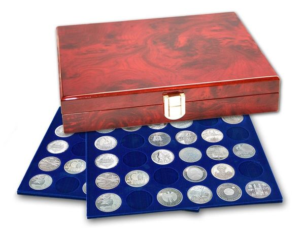 Немецкая кассета для монет - SAFE Elegance, лакированное дерево