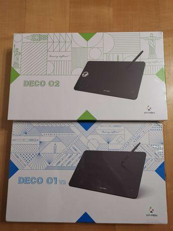 Графический планшет XP-Pen Deco 01 V2 / Deco 02